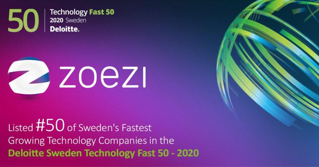 Deloitte Sweden Technology Fast 50 Zoezi AB
